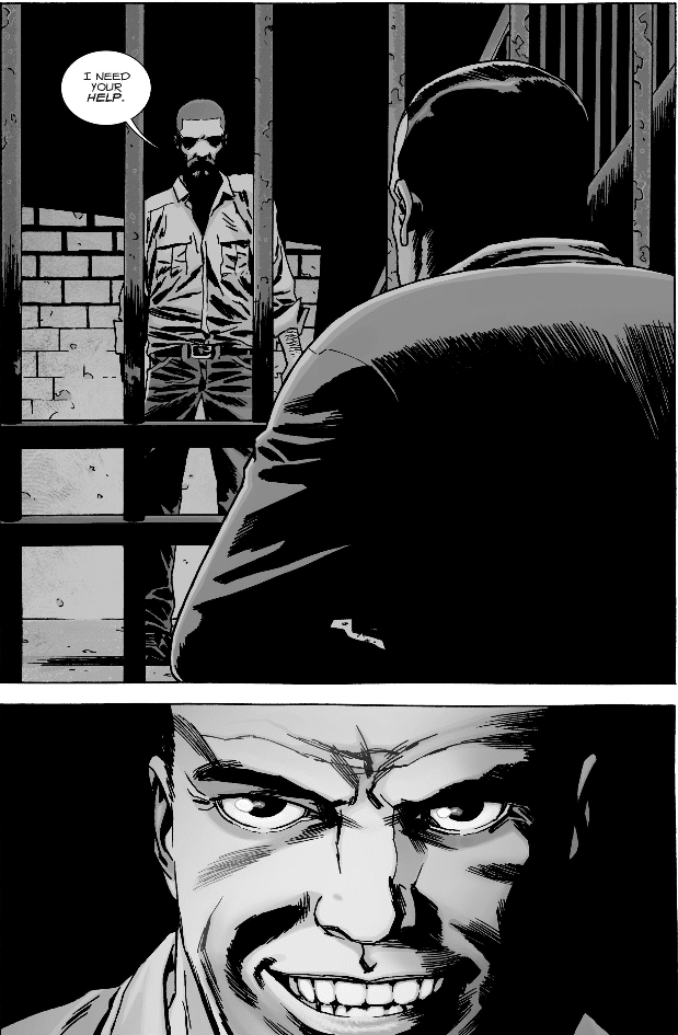 Walking Dead 148 Rick Needs Negan's help