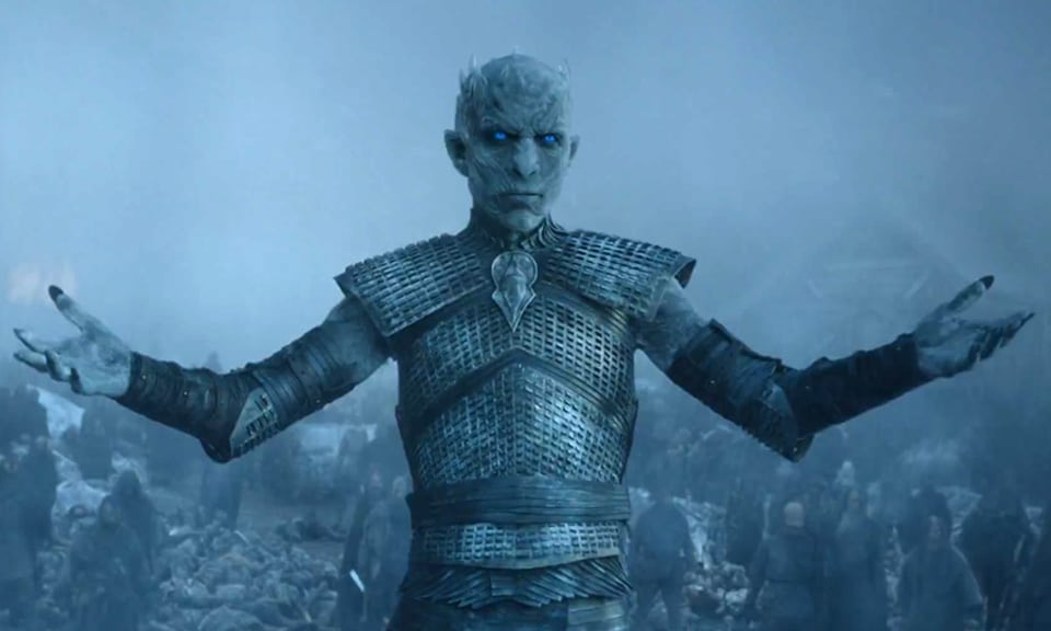 White Walker Arms Out